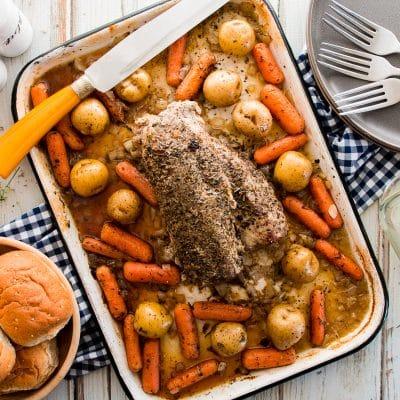 Roasted Pork Tenderloin – Comfort Food