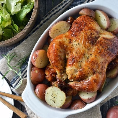 Slow Cooker Whole Roasted Chicken – CE-sample recipe