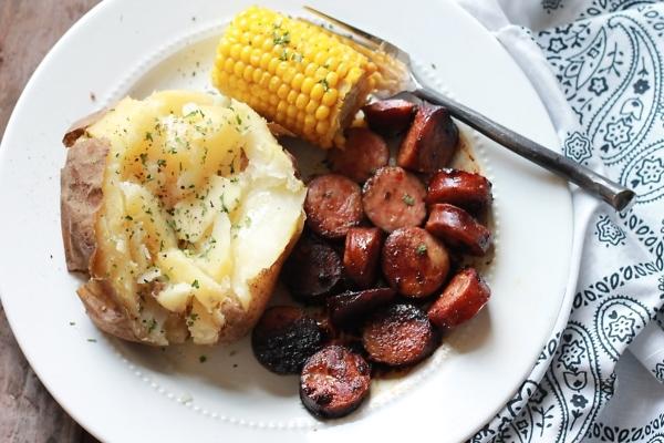 BBQ ranch sausage