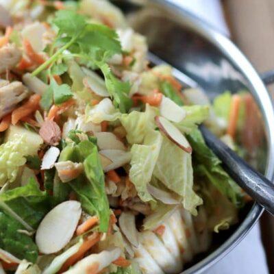 Asian BBQ Chicken Salad – S