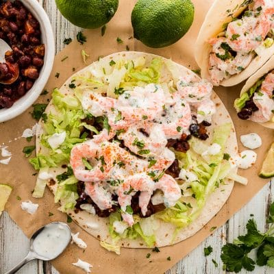 Easy Shrimp Tacos – Dinner in 10 Minutes!