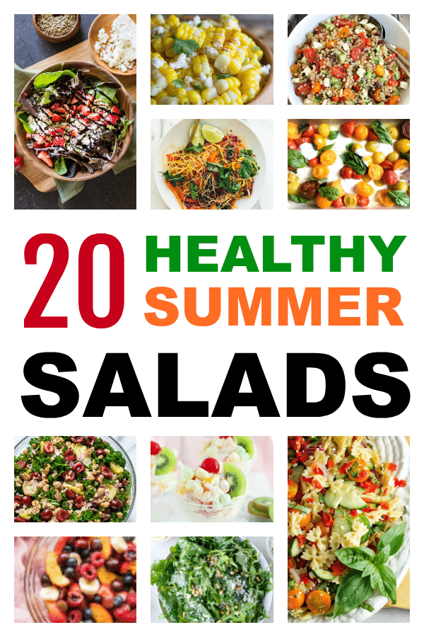 Fresh healthy summer recipes.