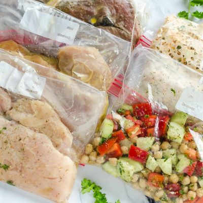 Meal Prepping with Frozen Meat