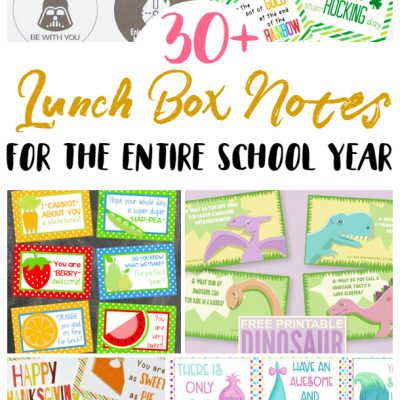 Kids' Lunch Notes Roundup