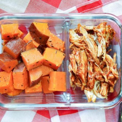 BBQ Chicken Sweet Potato Bowl – LMP