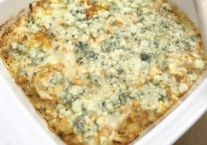 keto buffalo chicken casserole