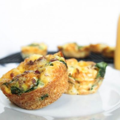 Bacon And Spinach Muffin Tins