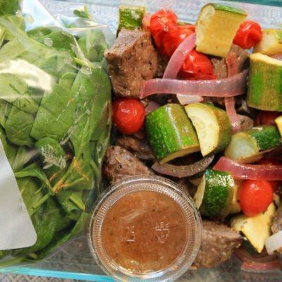 Broiled Steak and Zucchini – LMP