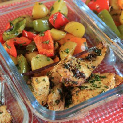 Roasted Veggies and Chicken – LMP