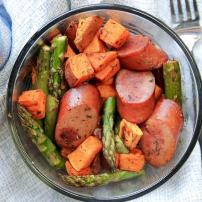 One Pan Sausage Sweet Potato – LMP