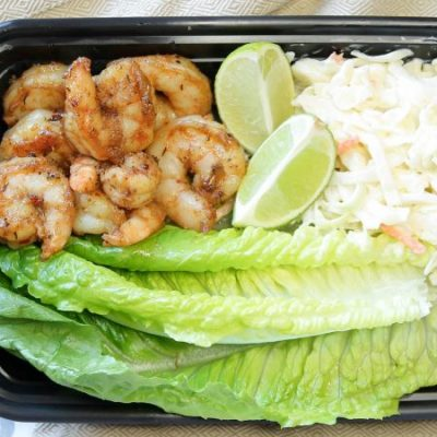 Spicy Shrimp Lettuce Wraps- LMP