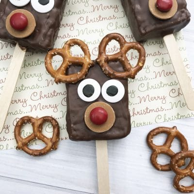 Reindeer Rice Krispie Treats