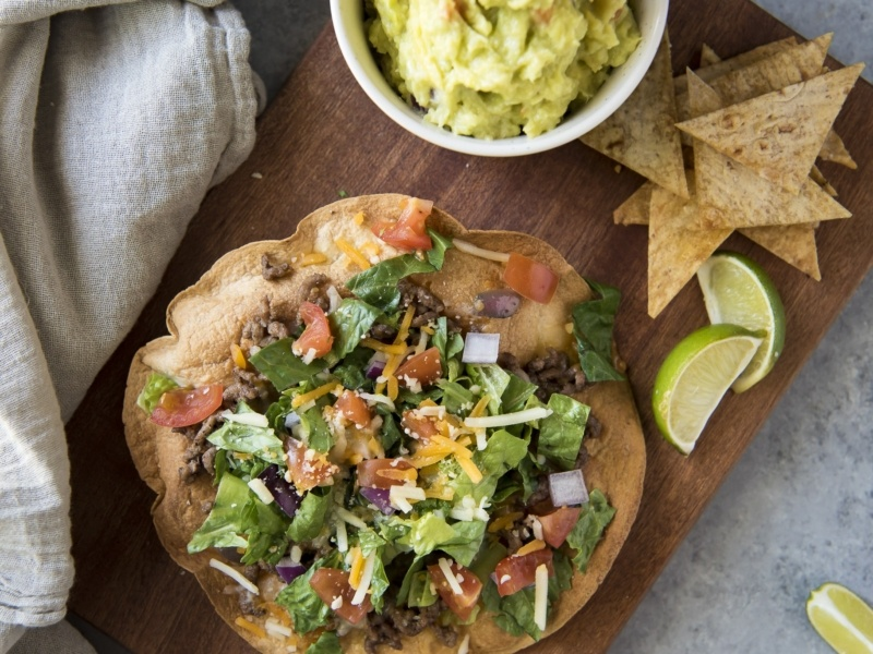 low carb tostadas