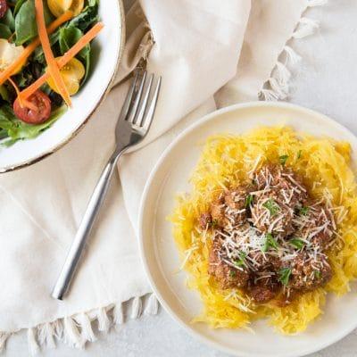 Spaghetti Squash and Meatballs – KIP