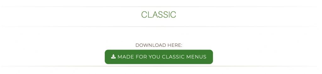 custom meal plans menu post