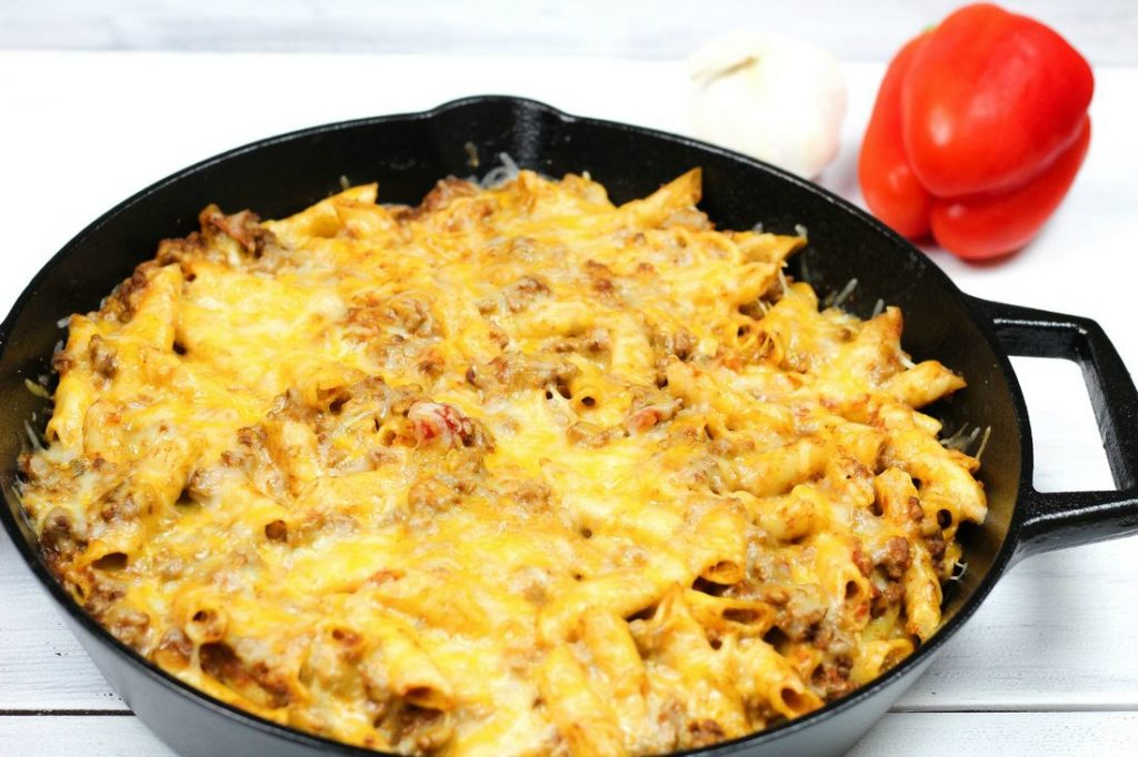 Cheesy Taco Penne Recipe