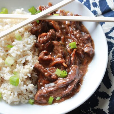 Slow Cooked Mongolian Beef – Skip the Take-Out!