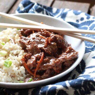 Slow Cooked Mongolian Beef – 10 YR Bonus