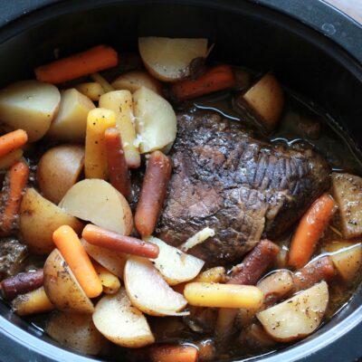Easy Italian Roast Beef
