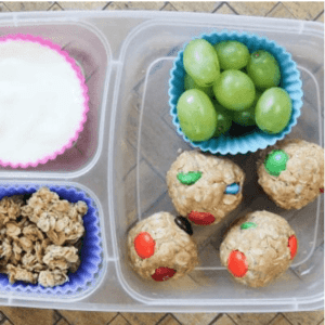 Easy no-bake cookie balls
