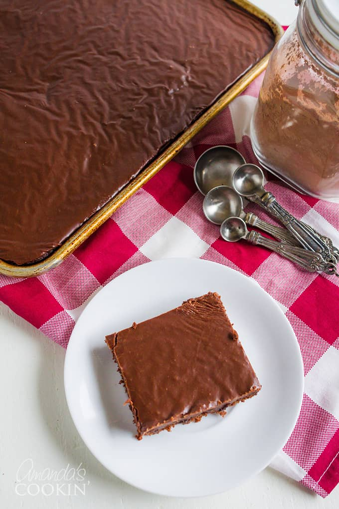 Texas Chocolate Sheet Cake Recipe
