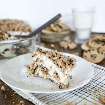 Milk and Cookies Freezer Cake