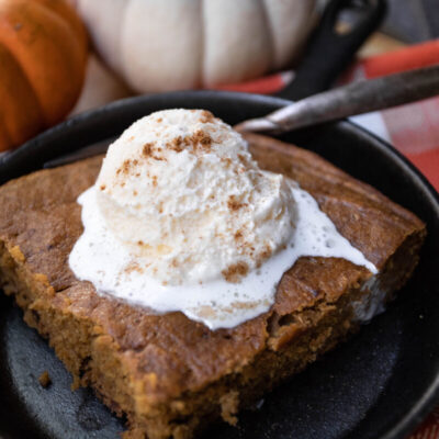 Slow Cooked Pumpkin Spice Cake