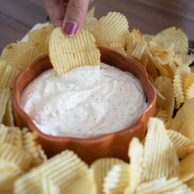 Sour Cream and Onion Chip Dip