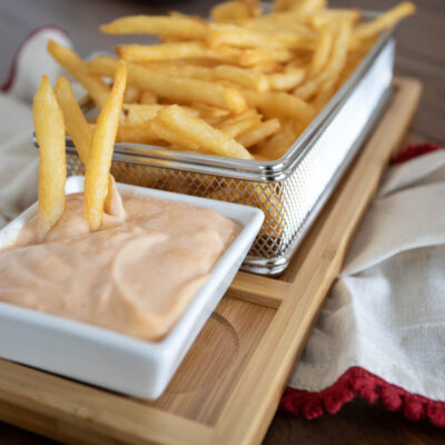 The Best French Fries Sauce