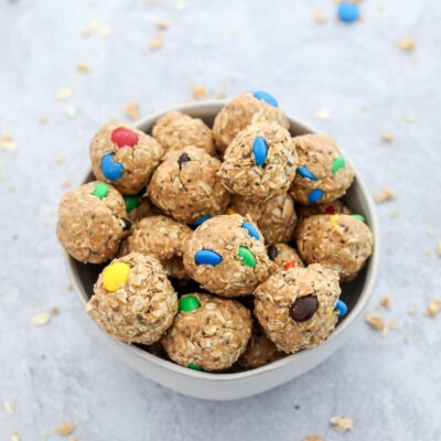 Easy No-Bake Cookie Balls