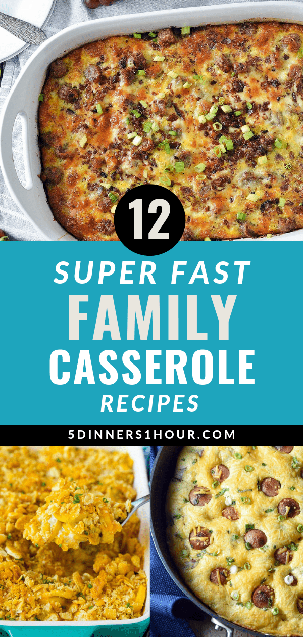 super fast casserole recipes