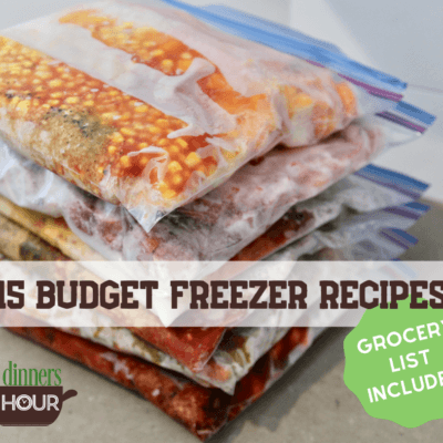 15 Budget Freezer Meal Ideas – Save Money On Groceries