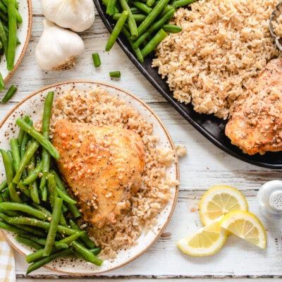 Slow Cooker Lemon Garlic Chicken – CE