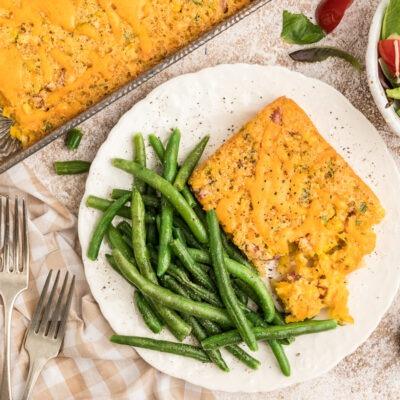 Country Ham and Corn Casserole – 10 YR Bonus