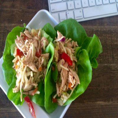 Chicken Lettuce Wraps – 10 YR Bonus