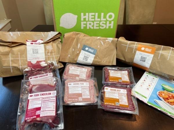 Hello Fresh Box